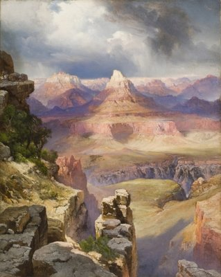 The Grand Canyon, 1909 Poster Art Print by Thomas Moran