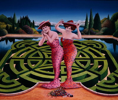 Fine Art Print of Mermaids, 1992 by Anthony Southcombe