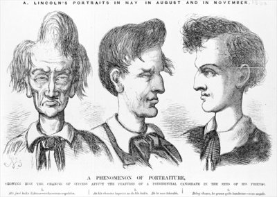 'A Phenomenon of Portraiture', c.1860 Poster Art Print by American School