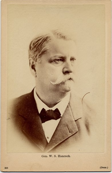 Fine Art Print of Winfield Scott Hancock by American Photographer