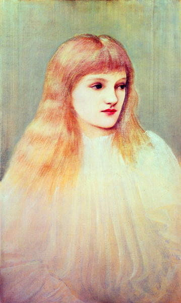 Portrait of Cecily Horner, 1895 (oil on canvas) by Sir Edward Coley Burne-Jones - print