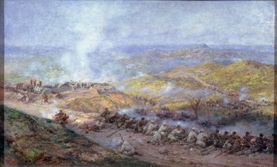 A Scene from the Russo-Turkish War in 1877-78, 1884 Poster Art Print by Pawel Kowalewsky