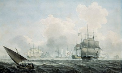 English Ships of War by Robert Cleveley - print