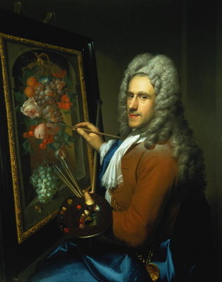 Portrait of the artist Coenraet Roepel by Richard van Bleeck - print