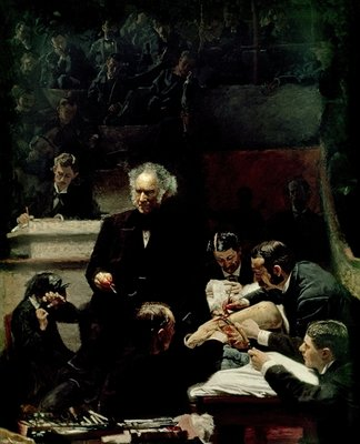 The Gross Clinic, 1875 (oil on canvas) by Thomas Cowperthwait Eakins - print