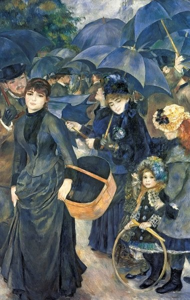 The Umbrellas, c.1881-6 Poster Art Print by Pierre-Auguste Renoir