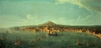 A View of Naples, 17th century by Gaspar van Wittel - print