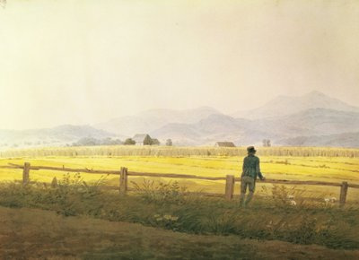 View of Schmiedebergerkamm, c.1837 Poster Art Print by Caspar David Friedrich