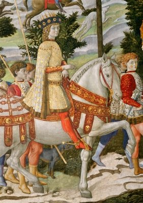 Fine Art Print of Lorenzo de' Medici, &amp;quot;the Magnificent&amp;quot; by Benozzo di Lese di Sandro Gozzoli