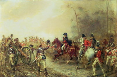 Fine Art Print of The Duke of Wellington by Robert Alexander Hillingford