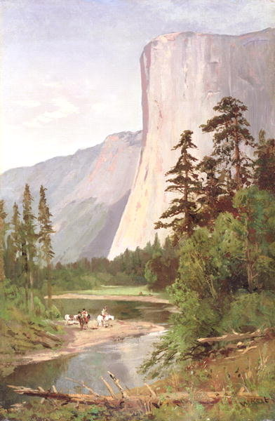Fine Art Print of El Capitan, Yosemite Valley by William Keith