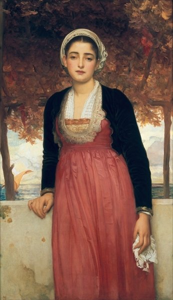 Fine Art Print of Amarilla by Frederic Leighton