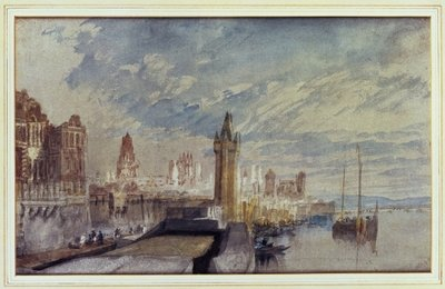 Mainz on the Rhine Poster Art Print by Joseph Mallord William Turner