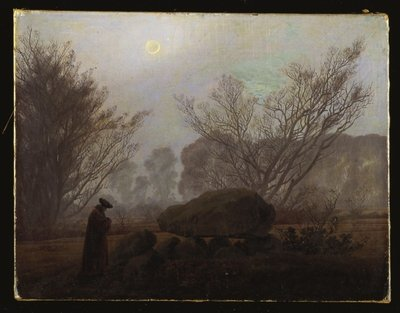 Fine Art Print of A Walk in the Mountains by Caspar David Friedrich