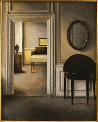 The Music Room, 30 Strandgade, c.1907 Poster Art Print by Vilhelm Hammershoi