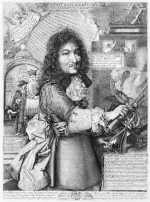 Fine Art Print of Louis XIV by French School