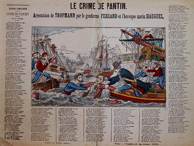 The Capture of Jean-Baptiste Troppmann Poster Art Print by French School
