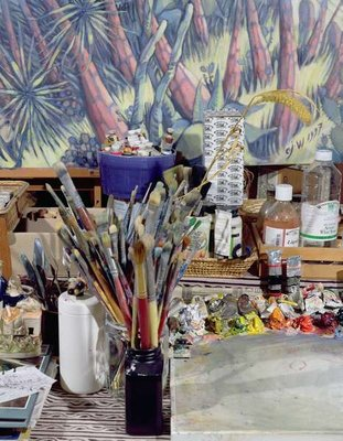 Artist's Studio (photo) by Charlotte Johnson Wahl - print