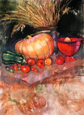 Harvest Poster Art Print by Claire Spencer