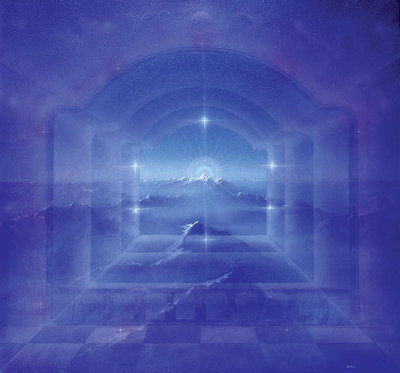 Fine Art Print of Through Crystal Worlds by Simon Cook
