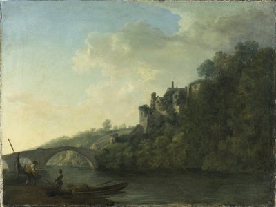 Lismore Castle from the West by William Ashford - print