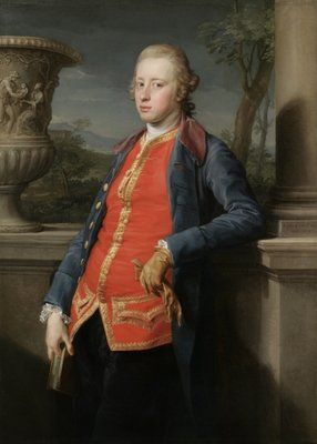 Portrait of William Cavendish, 5th Duke of Devonshire, 1768 by Pompeo Girolamo Batoni - print