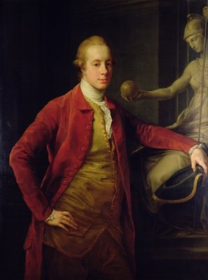 Portrait of Lord Richard Cavendish, 1773 by Pompeo Girolamo Batoni - print