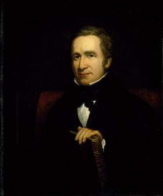 Portrait of Sir Joseph Paxton, c.1844 by Thomas Ellerby - print