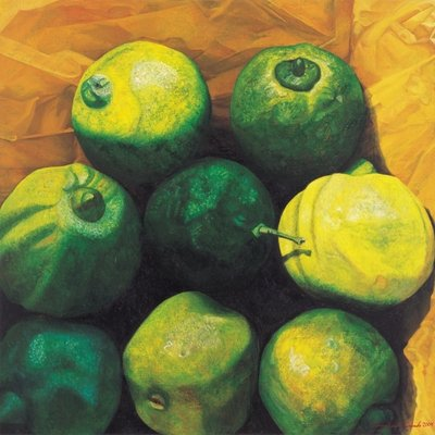Fine Art Print of Limes, 2004 by Pedro Diego Alvarado