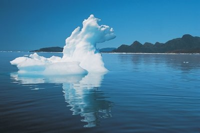 Fine Art Print of Ice-floe, Baffin Island II by Anonymous