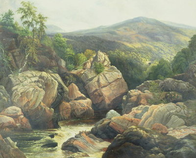 Fine Art Print of Killiecrankie by William Beattie Brown