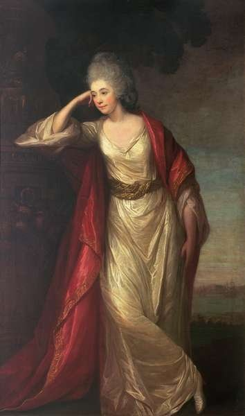 Margaret Kemble, wife of General the Hon. Thomas Gage, 1775 Poster Art Print by David Martin