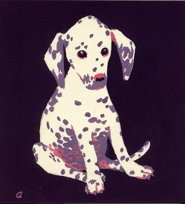 Dalmation Puppy, 1950s Poster Art Print by George Adamson