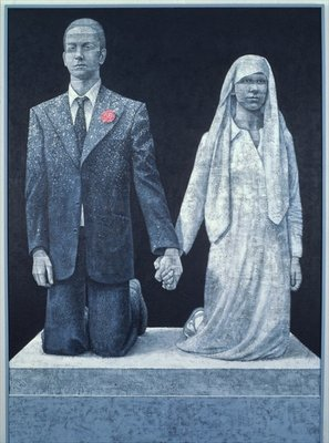Fine Art Print of The Wedding by Graham Dean