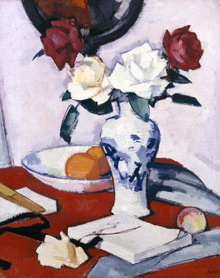 Fine Art Print of Roses by Samuel John Peploe