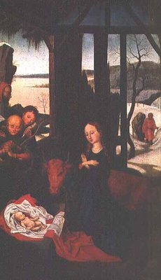 Fine Art Print of Birth of Christ by Martin Schongauer
