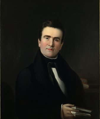 Fine Art Print of Mr. Hiram Hall of Portland, Maine, c.1839 by William Matthew Prior