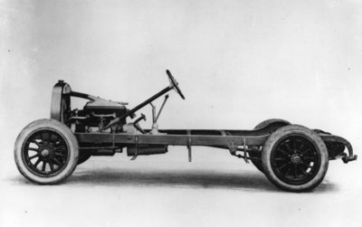 Fine Art Print of DuPont automobile chassis, c.1919-30 by American School