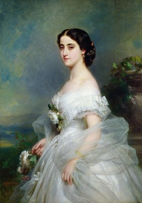 Adelina Patti by Franz Xaver Winterhalter - print