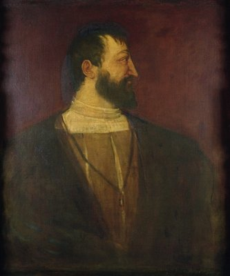 Francis I by Titian - print