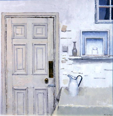 Fine Art Print of Meditation on Door II, 2004 by Charles E. Hardaker
