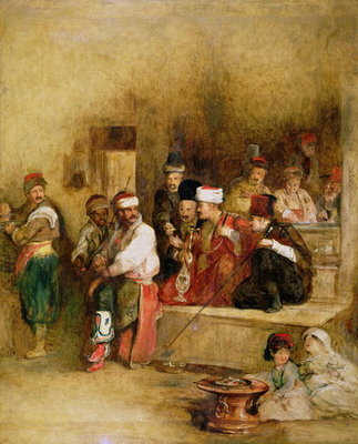 A Tartar Messenger Narrating the News of the Victory of St. Jean D'Acre, 1840 Poster Art Print by Sir David Wilkie