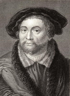 Fine Art Print of Martin Luther by English School