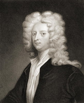 Fine Art Print of Joseph Addison by English School