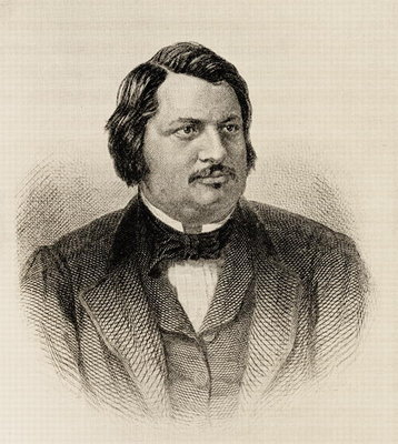 Honore de Balzac Poster Art Print by French School