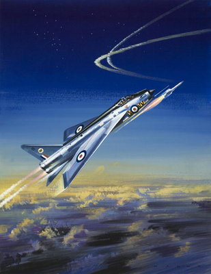 Fine Art Print of The Lightning by Wilf Hardy