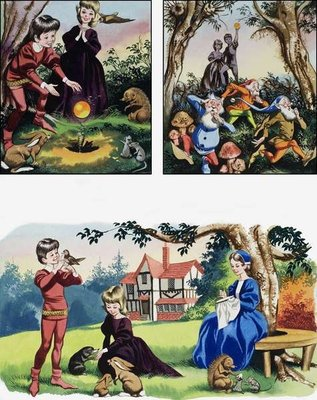 Fine Art Print of Nursery scenes by Ron Embleton