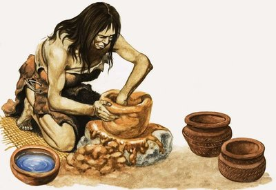 Fine Art Print of People of the New Stone Age by Peter Jackson