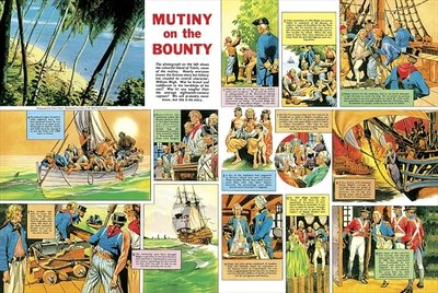 Mutiny on the Bounty Poster Art Print by Ron Embleton