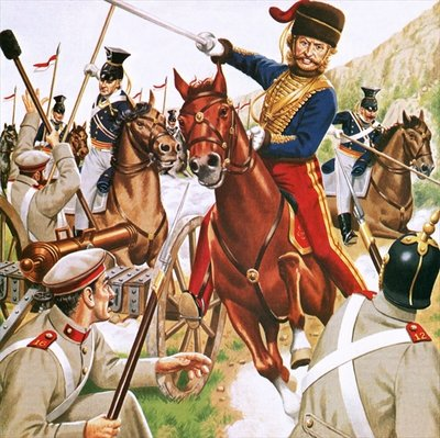 Charge of the Light Brigade Poster Art Print by John Keay
